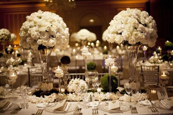 Decoração para Casamento Clássico  Peguei o Bouquet