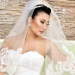 Véu de Noiva com Duas Camadas