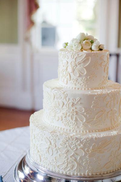 Bolo De Casamento Rendado Noivinhas Luxo