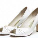 Sapato de Noiva: Salto Médio