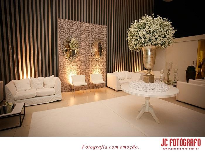 decoracao branca casamento : decoracao branca casamento:Decoração de Casamento Branca – Peguei o Bouquet