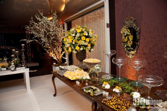 Decoração de Casamento Amarela  Peguei o Bouquet
