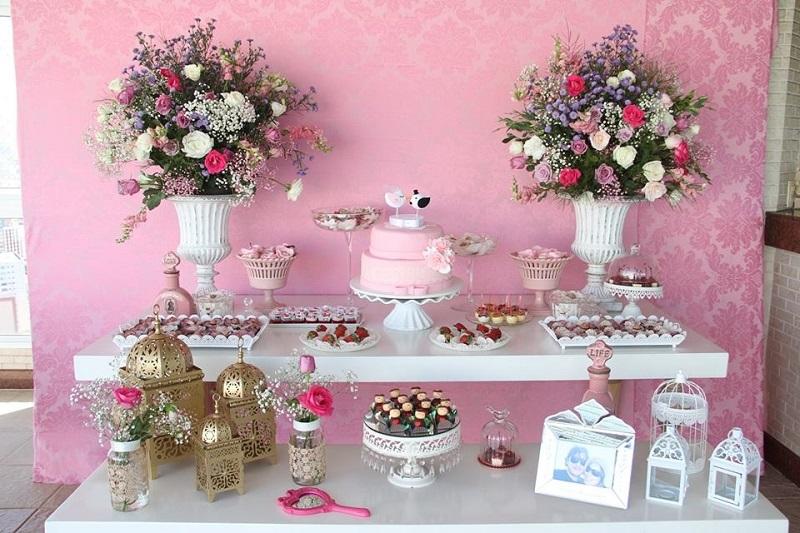 decoracao de boteco para noivado:Tema em cores! São simples, clássicos e LINDOS