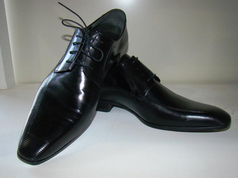 RPacheco - sapato de pelica com recorte a laser -