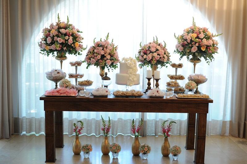 Decoração Casamento no Civil  Peguei o Bouquet