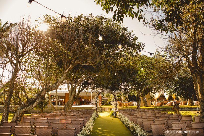 Casamento ao Ar Livre: Fernanda e Lucas