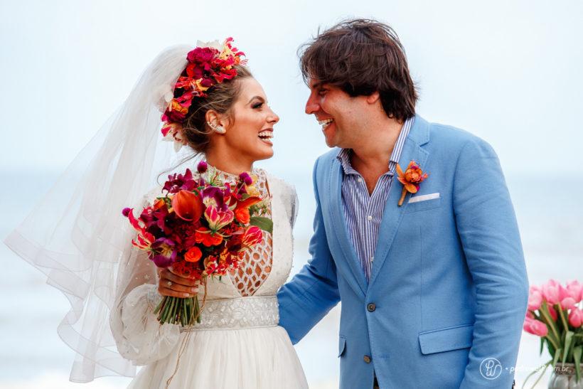 Casamento na Praia: Raissa e Karim