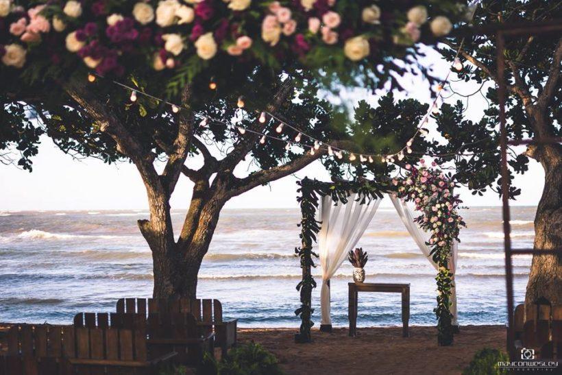 Casamento na Praia: Beatriz e Herialdo