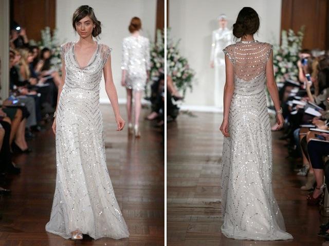 Vestido de Noiva com Brilho