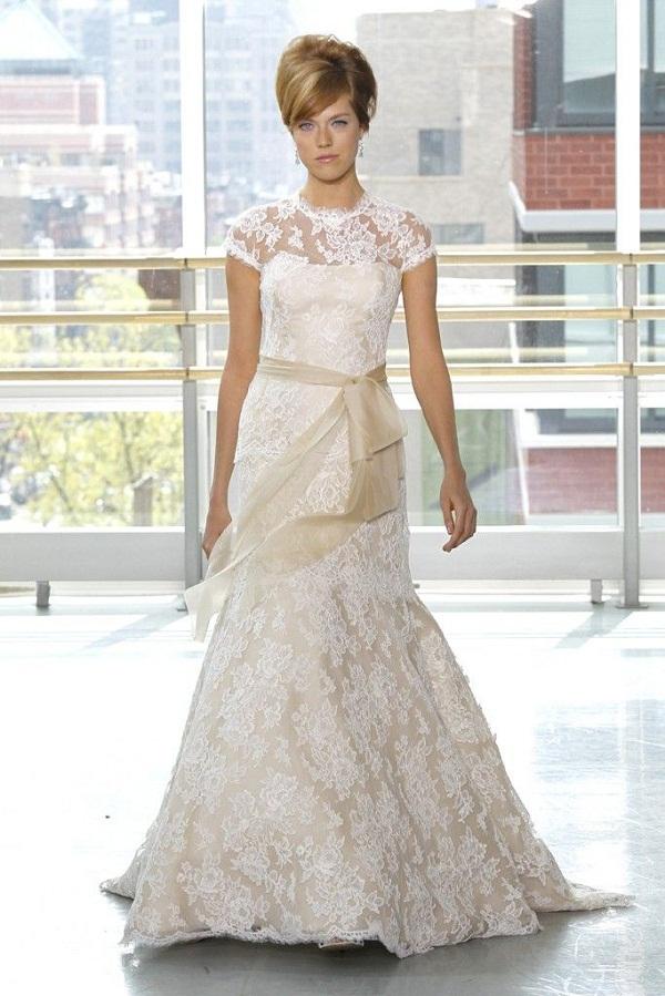 Vestido de noiva com forro nude peguei o bouquet for Two color wedding dress