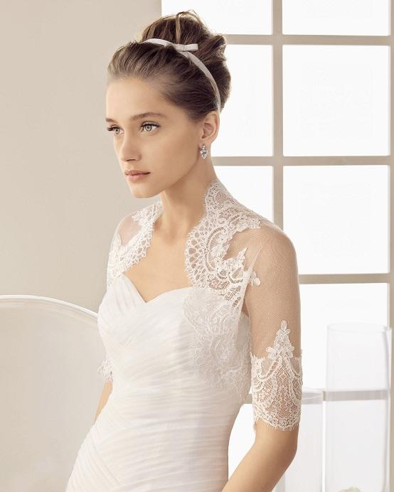 Vestido De Noiva Com Bolero Peguei O Bouquet