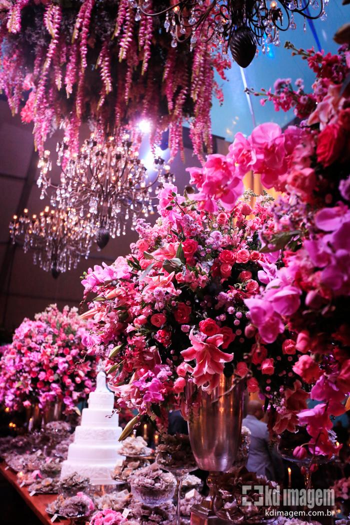 Decoração de Casamento Pink