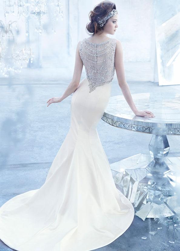 Vestido Lazaro Bridal - Foto: Divulgação