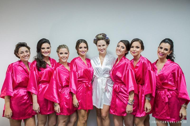 8f7323813 Robes Personalizados para Noivas e Madrinhas - Peguei o Bouquet