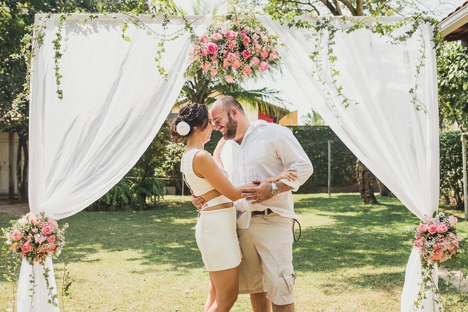 Casamento No Civil Mari E Daniel Peguei O Bouquet