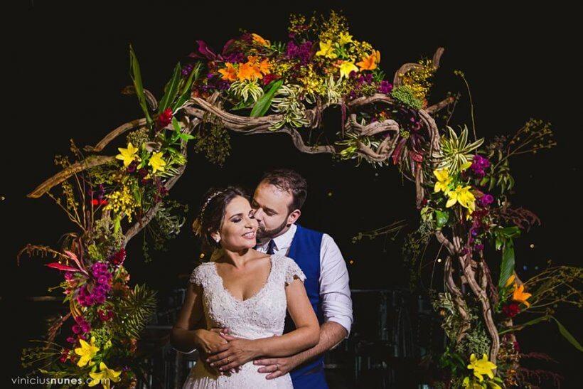 Casamento Boho Chic: Aline e Thomaz