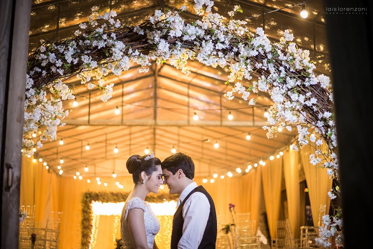 Casamento Romântico: Flaviana e José