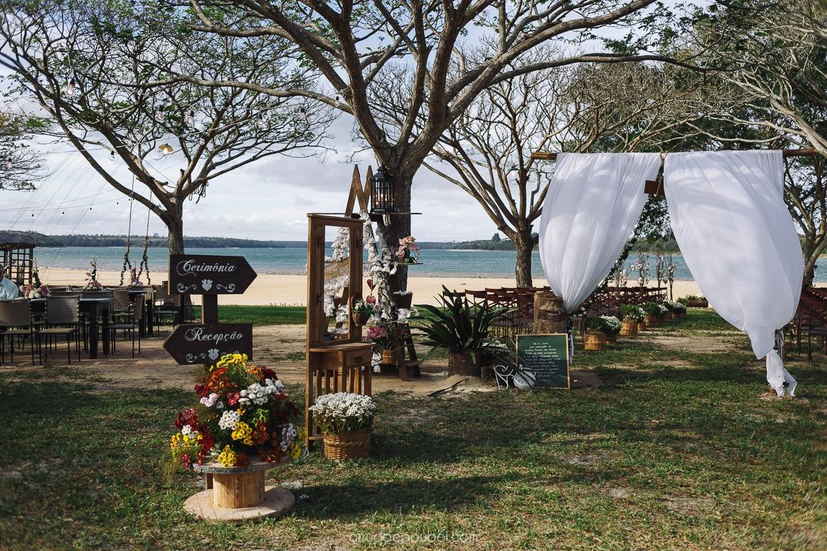 Casamento na lagoa - Linhares / ES