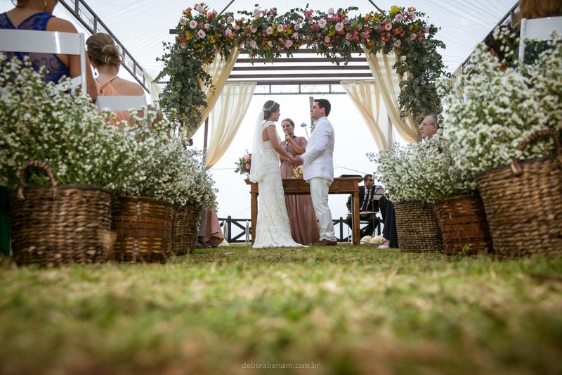 Casamento na Praia: Érica e Marcelo