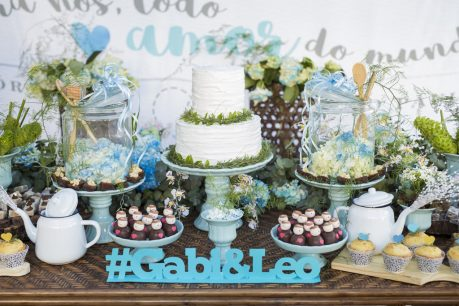 Chá-Bar (e chá de panela): Gabi e Leonardo