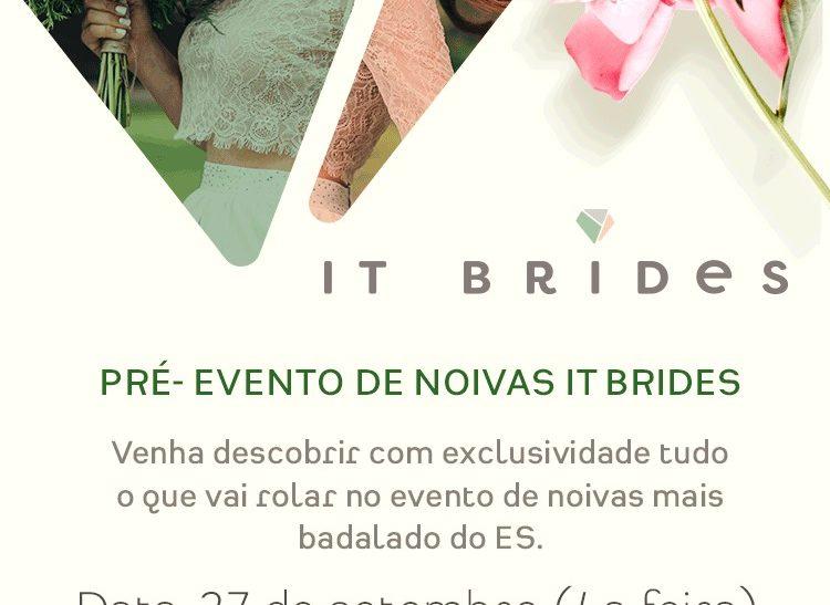 Resultado do Sorteio: Pré-Evento IT BRIDES
