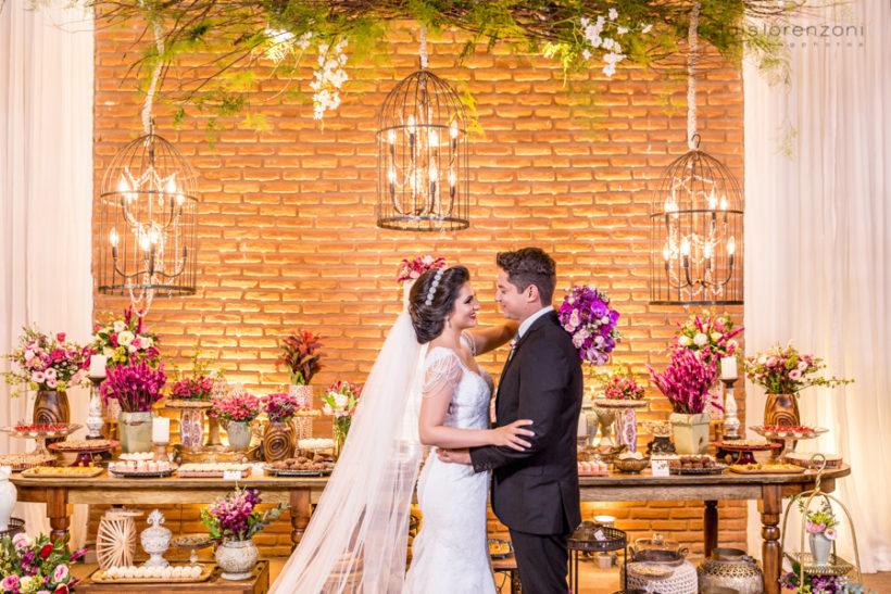 Casamento Romântico: Dani e Bruno