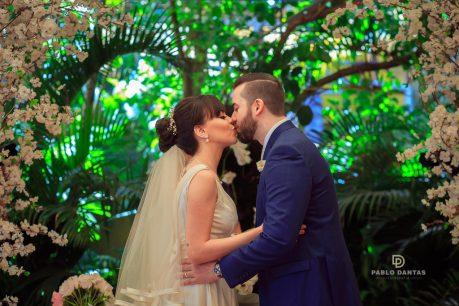 Casamento de dia ao ar livre: Roberta e Fernando