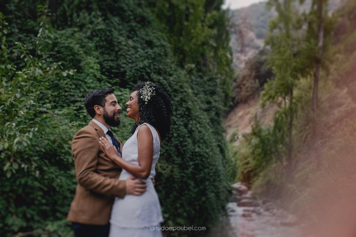 Casamento no Chile: Ariadna e Alonso