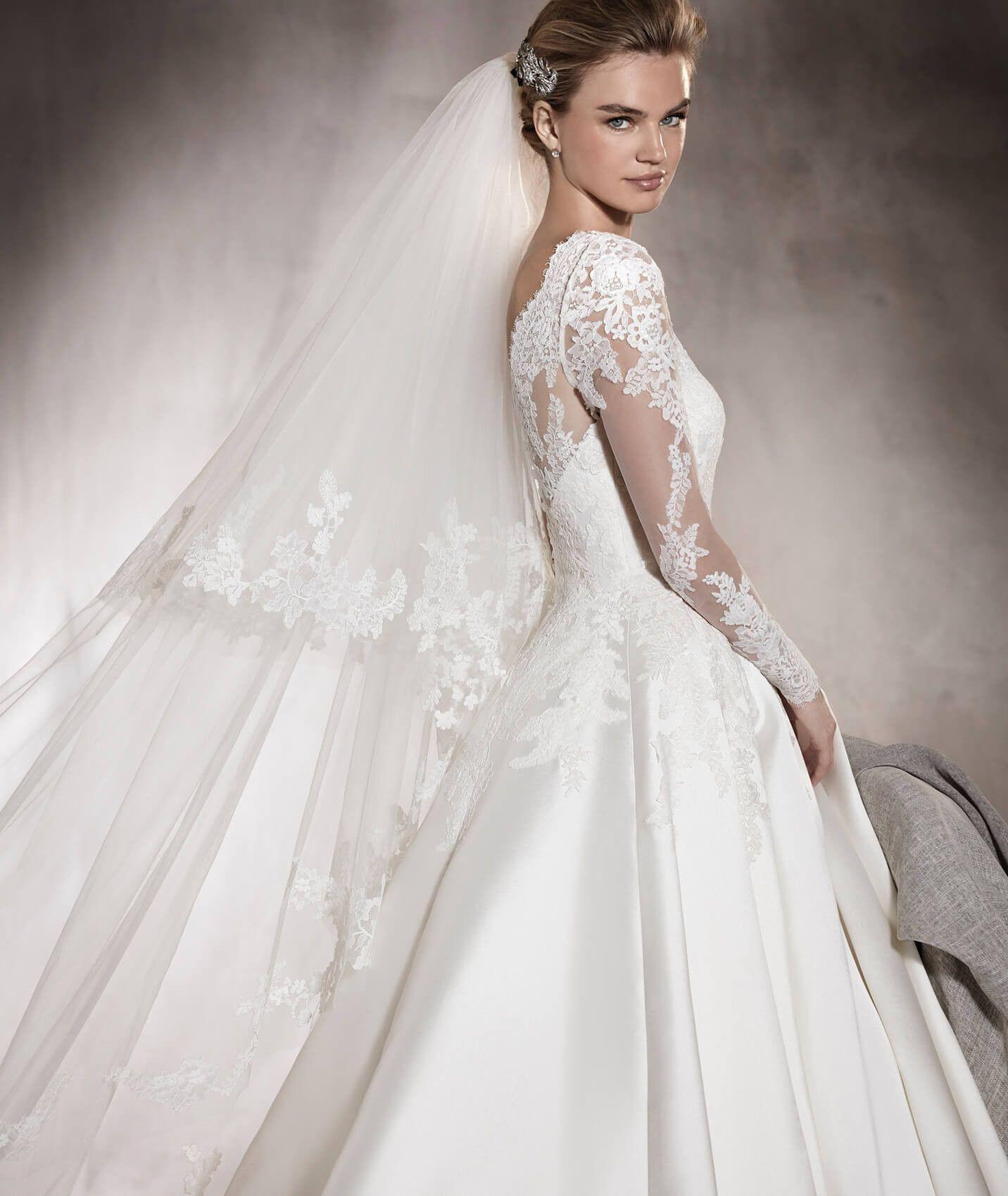 Vende-se Vestido de Noiva: Pronovias