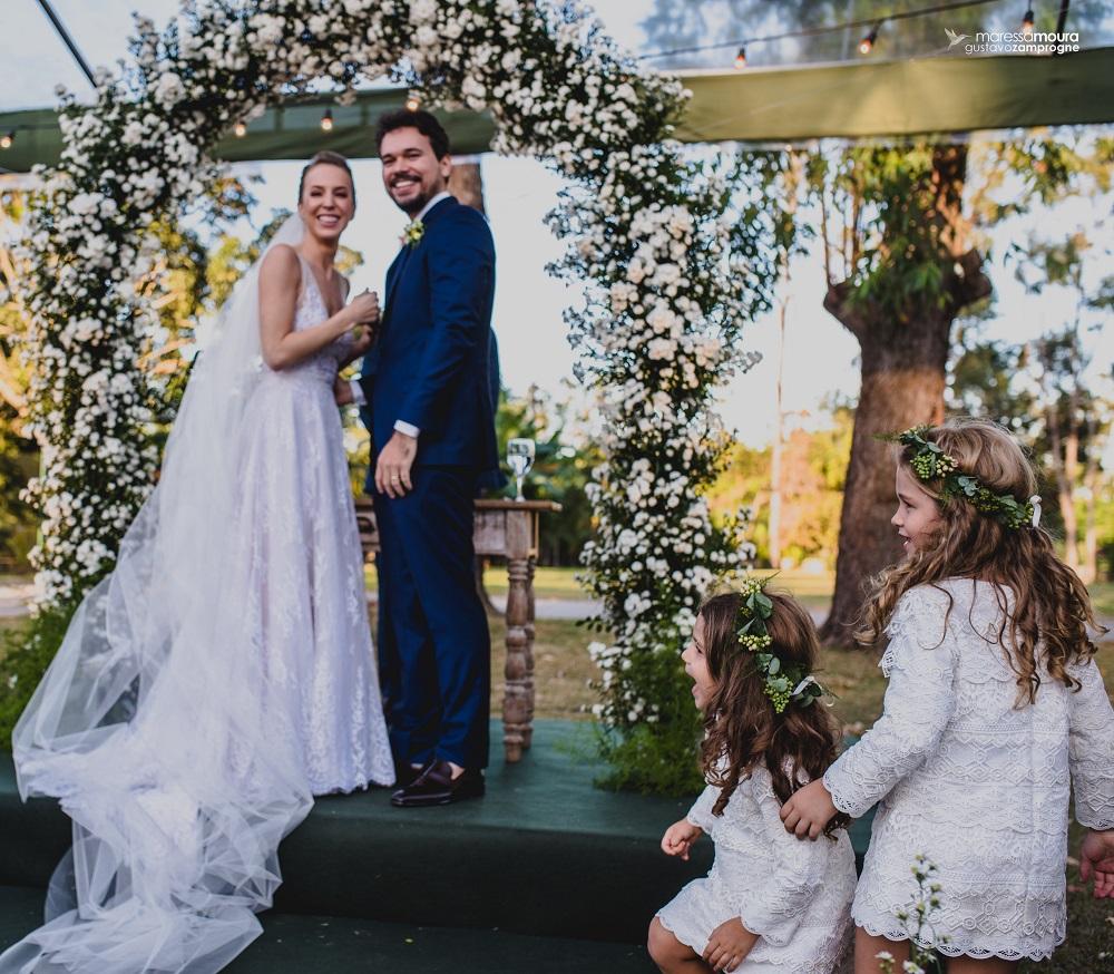Casamento Ao Ar Livre: Flávia e Diego