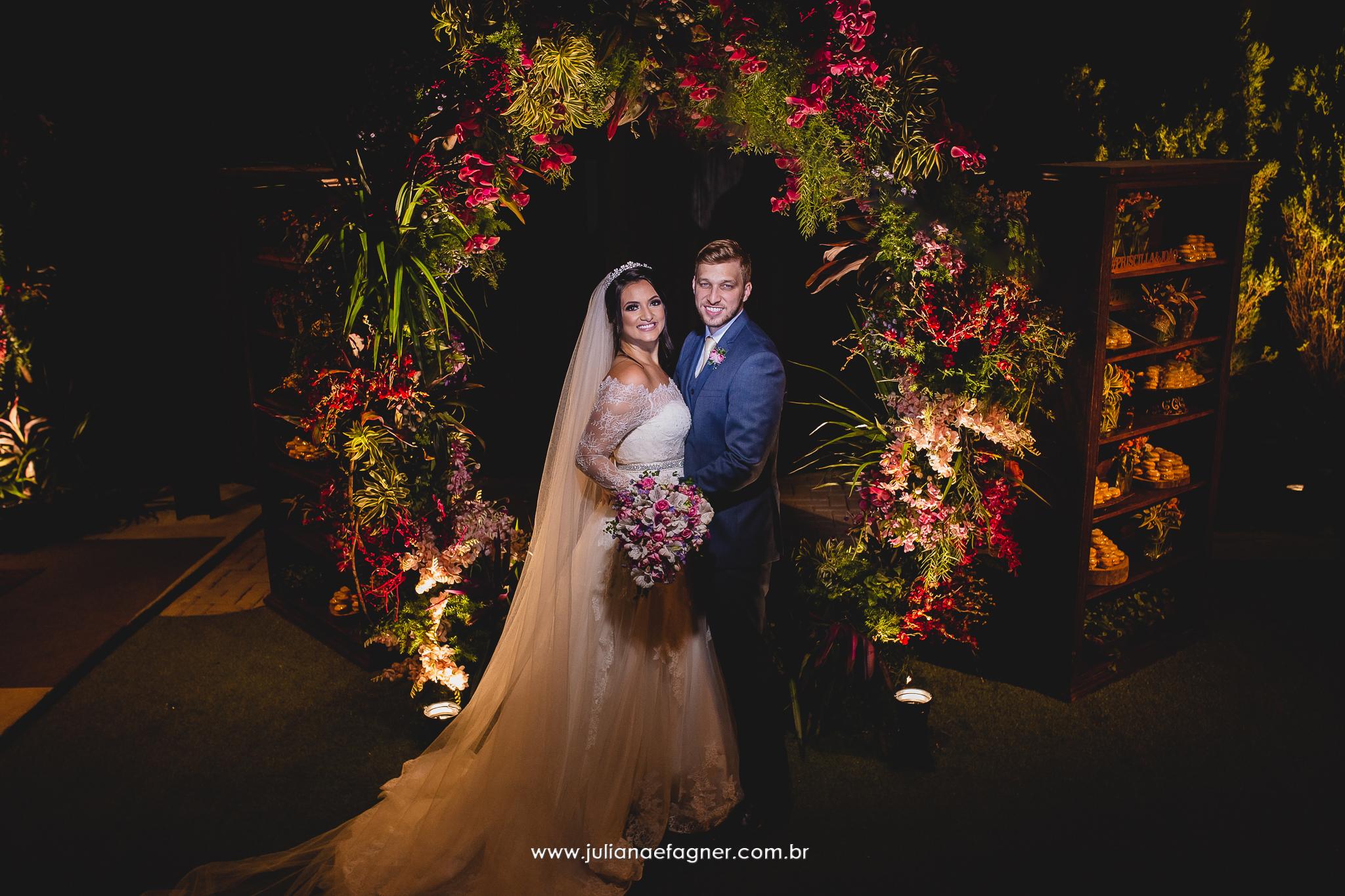 Casamento Romântico: Priscilla e João Vitor