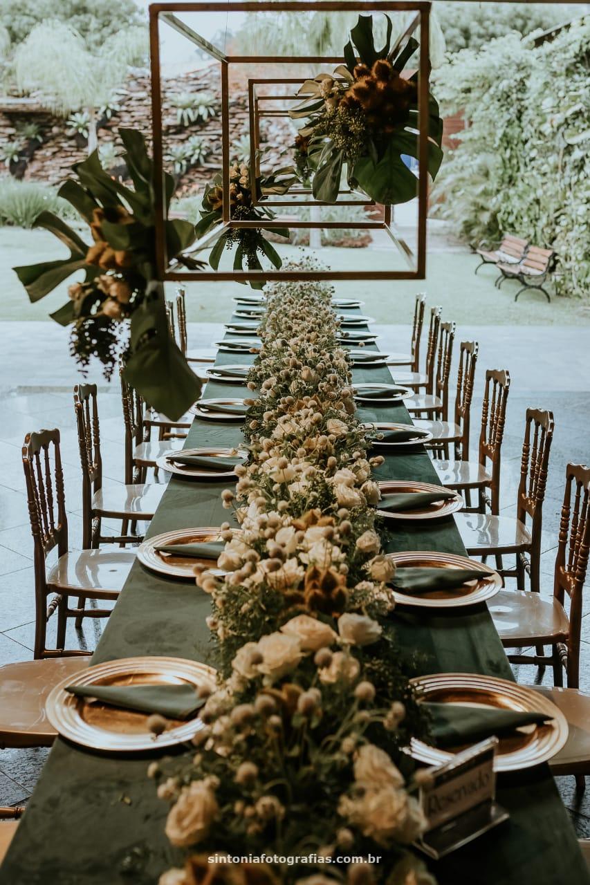 Casamento final de tarde - decoração