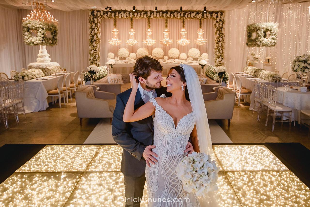 Casamento Clássico: Camila e Weverton