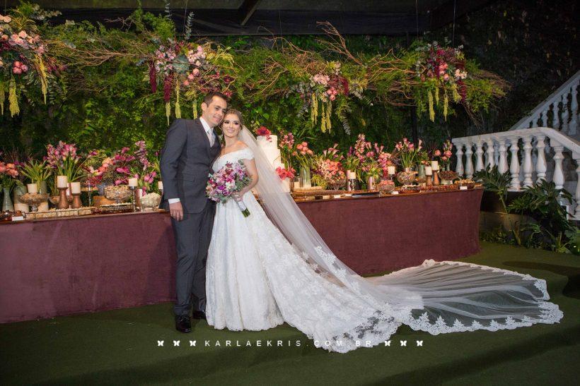 Casamento Romântico: Raquel e Maurício