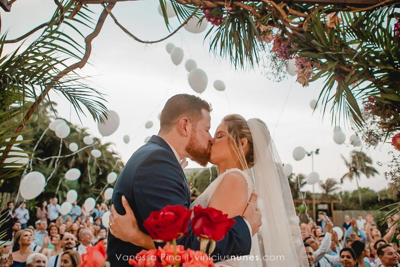 Casamento ao Ar Livre: Géssica e Gabriel