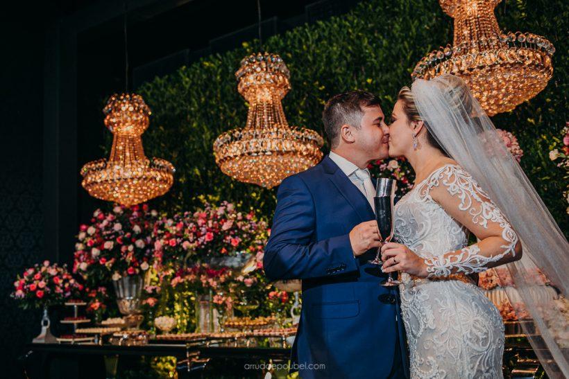 Casamento Estilo Romântico: Giseli e Vitor