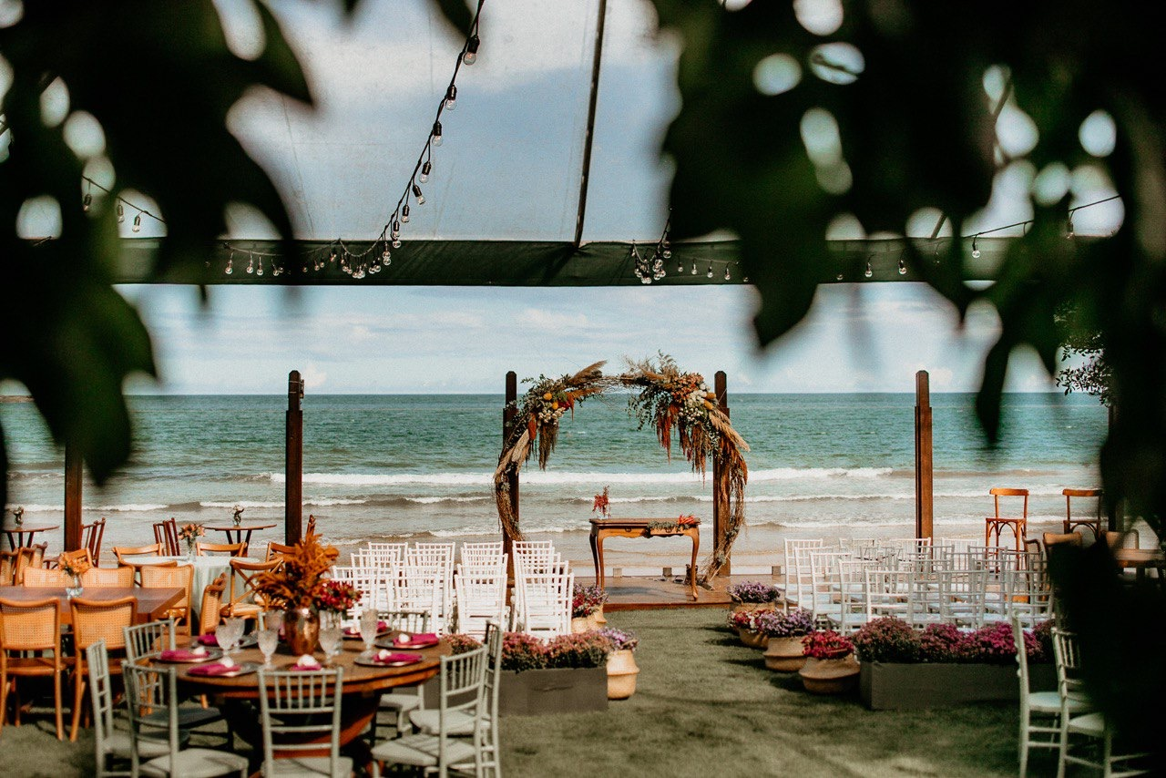 Casamento na Praia: Karla e Cyrus