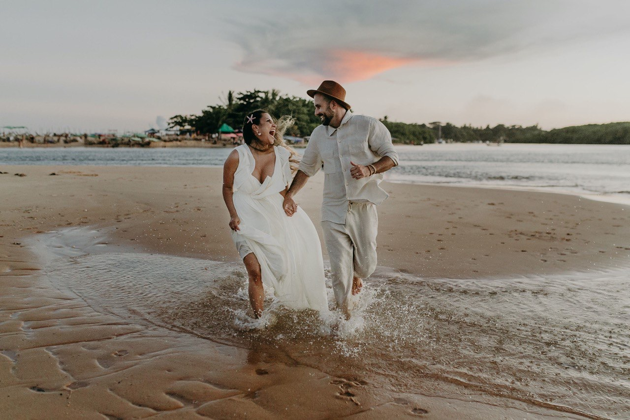 Elopement Wedding em Caraíva